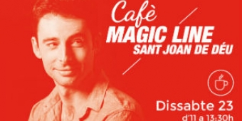 Bruno Oro presenta el Cafè Magic Line