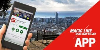 Descarrega't l'app de la Magic Line 2017