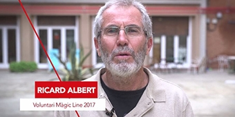 Testimonios Magic Line - voluntario Ricard Albert